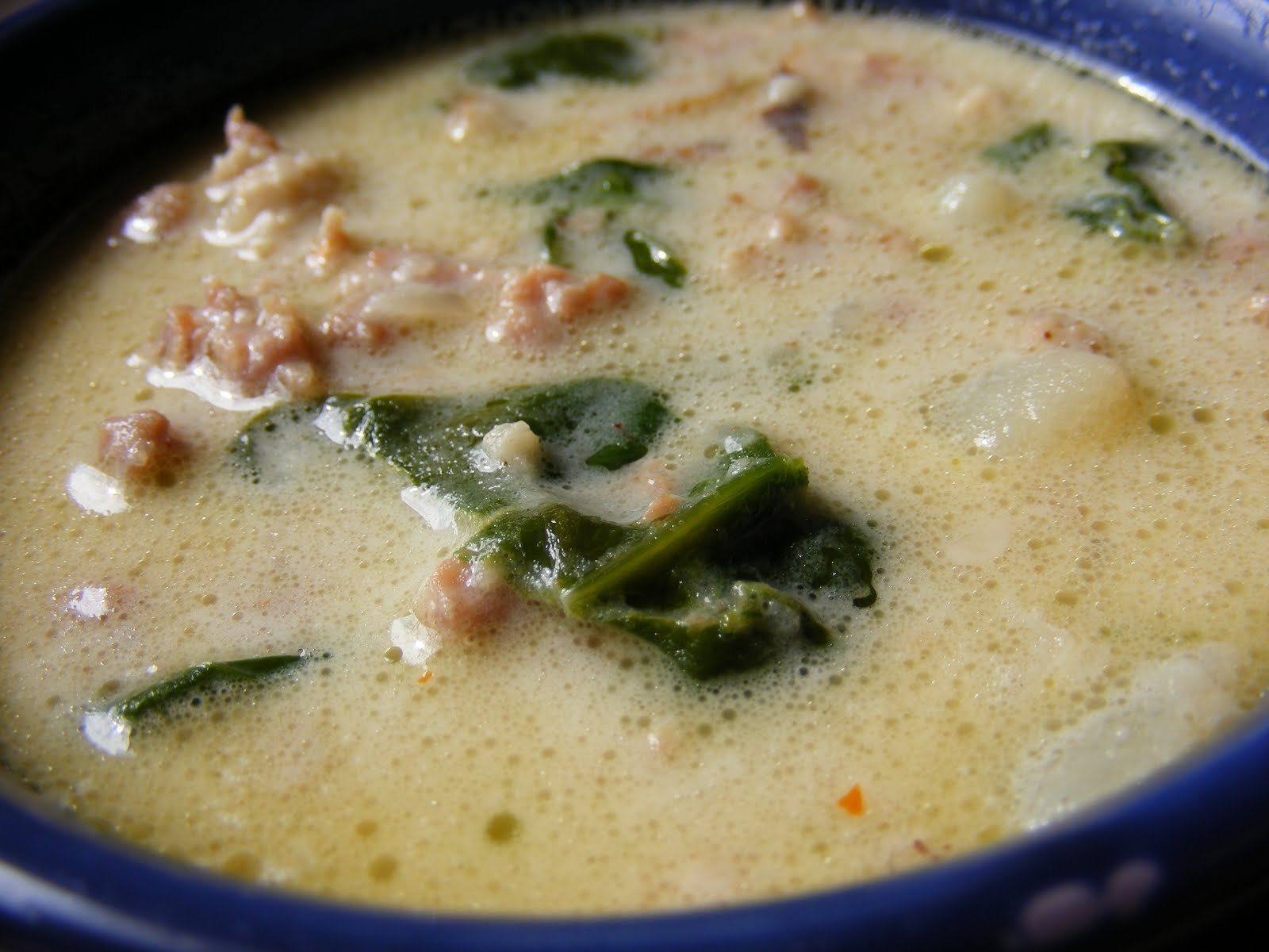 Homemade zuppa toscana savage taste - Recipe for olive garden zuppa toscana ...