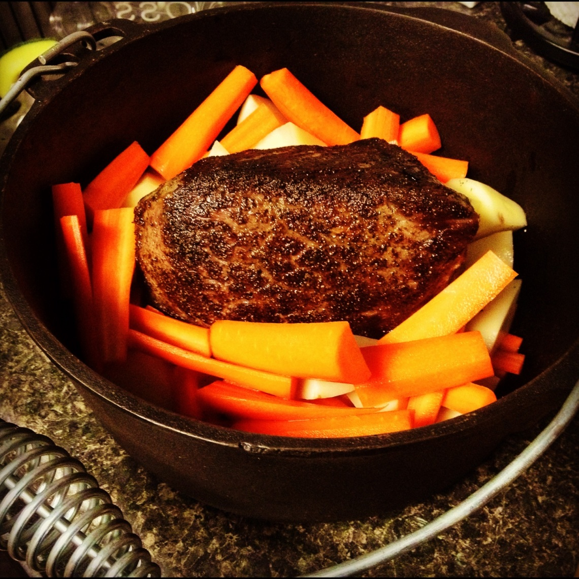 Image Result For How To Cook A Chuck Roast In A Dutch Oven