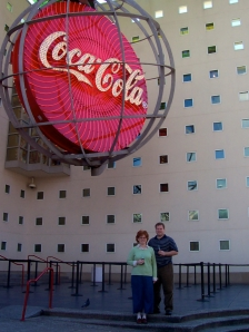 Us at Coke Museum