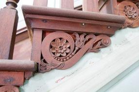 Staircase at Drayton Hall