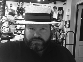 The hat I wanted and Amy vetoed.