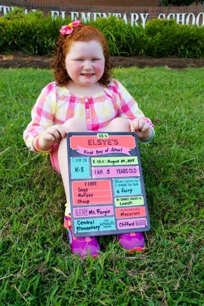 Elsye goes to Kindergarten